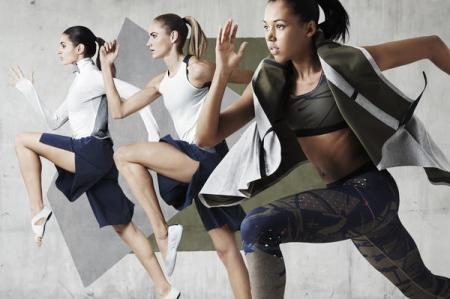 Source: Nike, Johanna Schneider Women's training collection