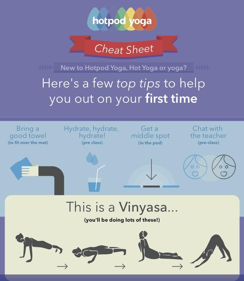 Tips for Hot Pod Yoga